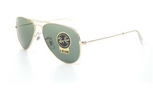 Ray-Ban Aviator Arista/G-15 XLT Sunglasses (RB3044 L0207 52mm) - Ships Same/Next Day!