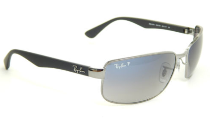 559d487ca0c HUGE PRICE DROP  Ray-Ban Polarized Gunmetal   Blue Sunglasses (RB3478 004