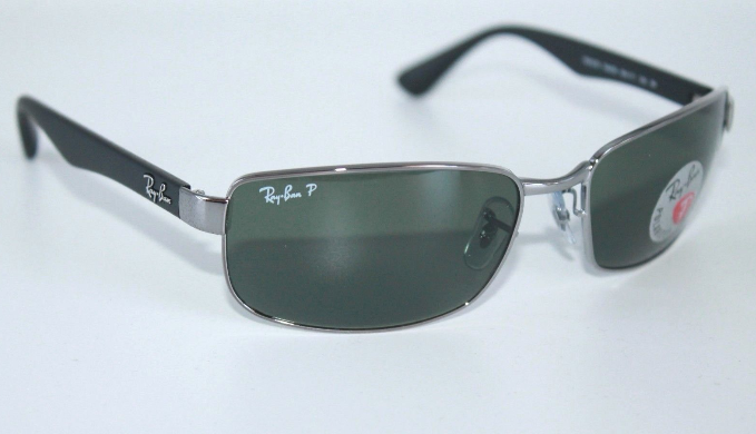92e283b736 Ray-Ban Active Gunmetal W  Green G-15 Lens Polarized Sunglasses (RB3478