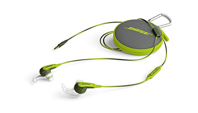 Bose Sound Sport In-Ear Headphones w/ Mic & Carrying Case - Apple devices - Ships Same/Next Day!