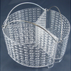 3 Section Vented Vegetable Steamer Basket,Maximum Flavour Minimum Nutrient Loss - Ships Same/Next Day!