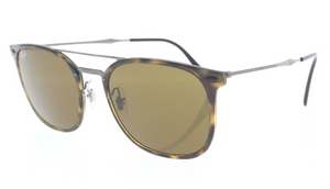 Ray-Ban Havana & Gunmetal / Brown Gradient Sunglasses (RB4286 710/73 55MM) - Ships Same/Next Day!