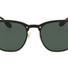 Ray-Ban Blaze Black & Gold / Green Gradient Sunglasses (RB3576N 043/71) - Ships Same/Next Day!
