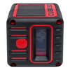 AdirPro Cube 3D Cross Line Laser Level Home, Red/Black!