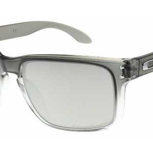 Oakley Holbrook Dark Ink Fade / Chrome Iridium Polarized Sunglasses ( OO 9102-A9) - Ships Same/Next Day!