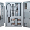 2 Pack: American Builder 31 Pc Tool Set in Prograde Construction Plastic Trifold Case - Ships Same/Next Day!