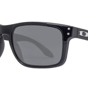 Oakley Holbrook Polished Black / Grey Polarized Sunglasses (OO9102-02 57MM) - Ships Same/Next Day!