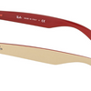 Ray-Ban Beige Red / Green Gradient Sunglasses (RB2132 6307/A6 58MM) - Ships Same/Next Day!