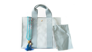 Hermes Coquillages Beach Basket Celadon - Ships Same/Next Day!