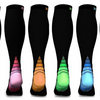 6-Pairs : Unisex Sports Compression Socks - Ships Same/Next Day!