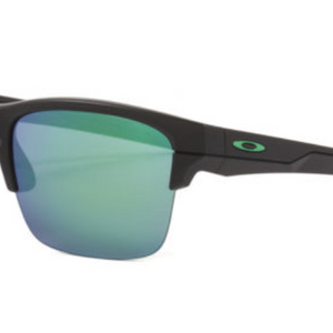 HUGE PRICE DROP: Oakley Thinlink Matte Black Frame / Jade Iridium Lens Sunglasses  (OO9316-09) - Ships Same/Next Day!