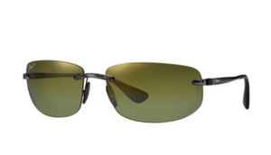 Ray-Ban Black Green Mirror Chromance Polarized Sunglasses (RB4254 621/6O 62mm) - Ships Same/Next Day!