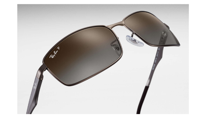 4247415fa1f Ray-Ban Gunmetal Metal Polarized Brown Gradient Sunglasses (RB3498 029 T5  61) - Ships Same Next Day!
