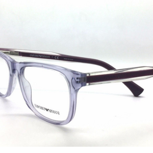 Emporio Armani Burgundy Clear 52mm Rx Eyeglasses (EA 3001 5071) - Ships Same/Next Day!