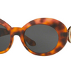 Versace Havana Medusa Women's Sunglasses - Ships Next Day!