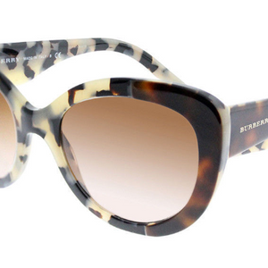 Burberry Top Havana Gradient Sunglasses - Choice of 2 Colors - Ships Same/Next Day!