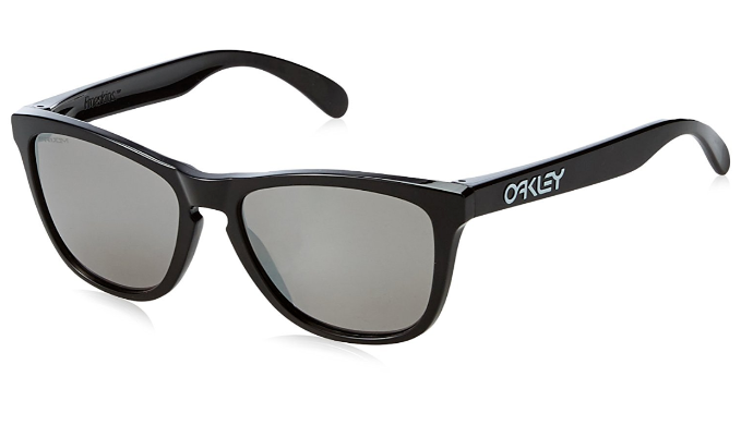 Oakley Frogskins Polished Black / Prizm Black Sunglasses (OO9013-C4) - Ships Same/Next Day!