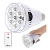 3in1 LED Emergency Light Bulb + Remote - Recharges While in Socket for Use as Flashlight During Power Outages - Ships Same/Next Day!