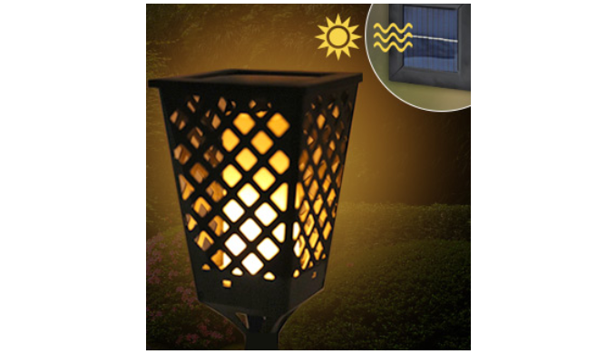 Dancing Solar Flame Torch Light - Ships Same/Next Day!