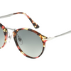 Persol Round Multi Tortoise / Grey Gradient Sunglasses (PO3166S 1059/71 51MM) - Ships Same/Next Day!