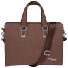 Access Denied RFID-Blocking Genuine Leather Briefcase/Handbag - Perfect Gift!