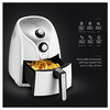 Comfee 1500W Multi Function Electric Hot Air Fryer with 2.6 Qt. Removable Dishwasher Safe Basket - Ships Same/Next Day!