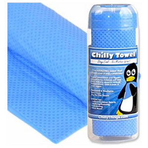 1 or 2 Pack: Chilly Towel - Keep Your Cool All Day Long - Ships Same/Next Day!