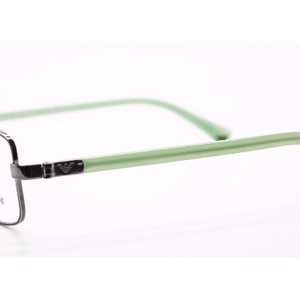 Emporio Armani  Green/Silver RX Eyeglasses (EA1004 3010 52MM) - Ships Same/Next Day!