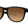 Oakley Silver R  Matte Black / Brown Gradient Polarized Sunglasses (OO9342.06) - Ships Same/Next Day!