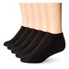 12, 36 or 72 Pack: Daily Basic Men's Low Cut Socks - Choice of Black & White - Ships Same/Next Day!