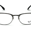 Ray-Ban Unisex Metal Brushed Gunmetal Frame Eyeglasses (RX6346 2553 50mm) - Ships Same/Next Day!