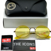 Ray-Ban Bronze-Copper Frame/Yellow Classic Lenses Unisex Sunglasses (RB3592 9035C9) - Ships Same/Next Day!