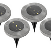 LED Solar Pathway Lights - Set of 4 or Set of 12 - Ships Same/Next Day!