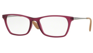 RAY-BAN  Rubber Violet Eyeglasses (RX7053 5526 54mm) - Ships Same/Next Day!