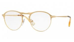 Persol Gold Havana RX Eyeglasses (PO7092V 1069 50MM) - Ships Same/Next Day!