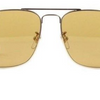 Gucci  Gold / Light Brown Gradient Sunglasses (GG 0108S 004 54MM) - Ships Same/Next Day!
