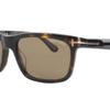Tom Ford Dark Havana Frame Brown CAT3 Lens  Hugh Sunglasses (FT0337 56J) - Ships Same/Next Day!