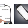 LED Flexible Desk Lamp with USB Charger - Ships Same/Next Day!