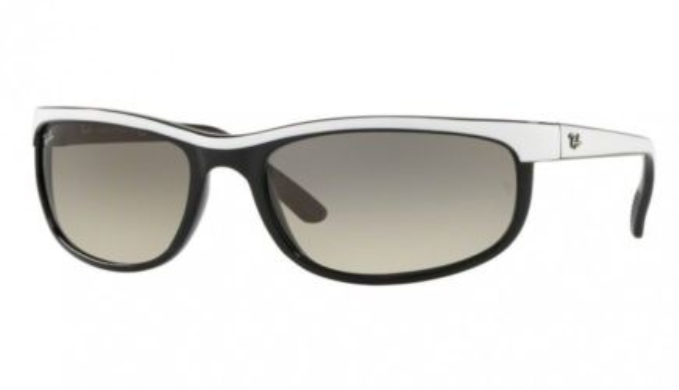 Ray-Ban Predator 2 White Sunglasses (RB2027 629932  62MM) - Ships Same/Next Day!