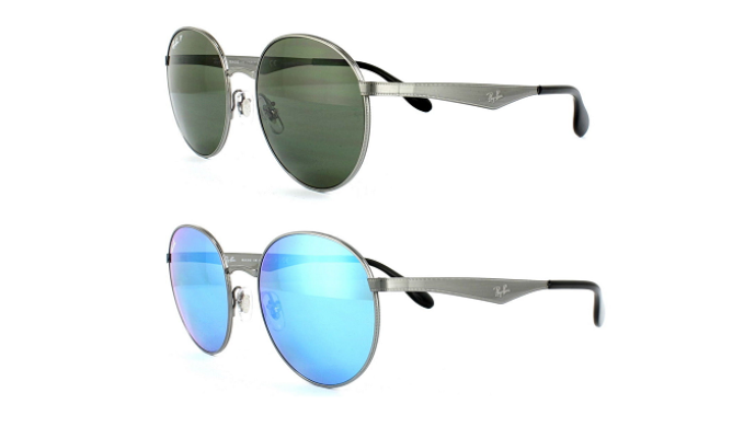 f9f6bbf5f7 Ray-Ban Round Metal Sunglasses (RB3537) - Choice of 2 Colors - Ships ...