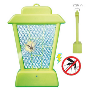 1/2/3 Pack: Ninja Glow in the Dark Bug Zapper: Hang, Zap, Enjoy - Ships Same/Next Day!