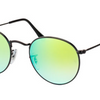 Ray-Ban Unisex Rounded Sunglasses (RB3447 002/4J) - Ships Same/Next Day!