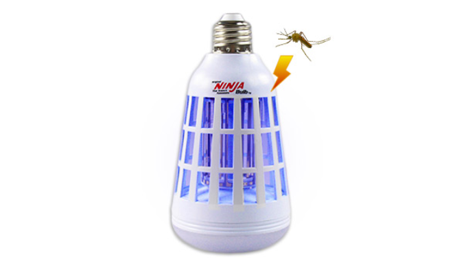 Value Packs: Ninja Mosquito Killing LED Light Bulb - Ships Same/Next Day!