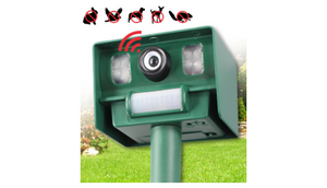 Solar Yard & Garden Animal Repeller (1 to 4 Pack Options) - Ships Same/Next Day!