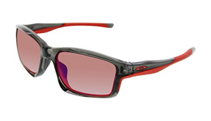 Oakley Men's Polarized Chainlink Black Rectangle Sunglasses (OO9247-10 ) - Ships Same/Next Day!