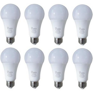 8 Pack: Battery Backup LED Bulbs 9-Watt by LifeLyte (Soft White) - Ships Same/Next Day!