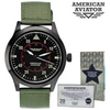 Vintage Style American Aviator Watch Blowout Sale - Ships Same/Next Day!