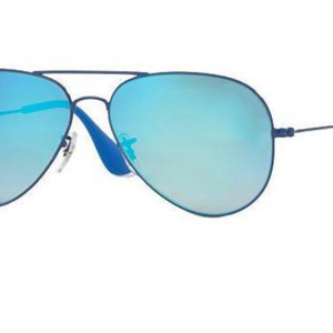 Ray-Ban Blue Gradient Flash lens Sunglasses (RB3558 9016B7 58MM) - Ships Same/Next Day!