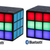 Rubik's Cube MultiColored LED Bluetooth Speaker - Ships Same/Next Day!