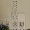 OxGord 12.5 Feet Extendable Aluminum Telescopic Extension Ladder -Ships Same/Next Day!